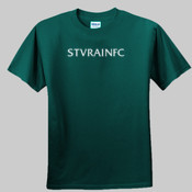 St Vrain FC White Text - Youth Ultra Cotton™ 100% Cotton T Shirt 2